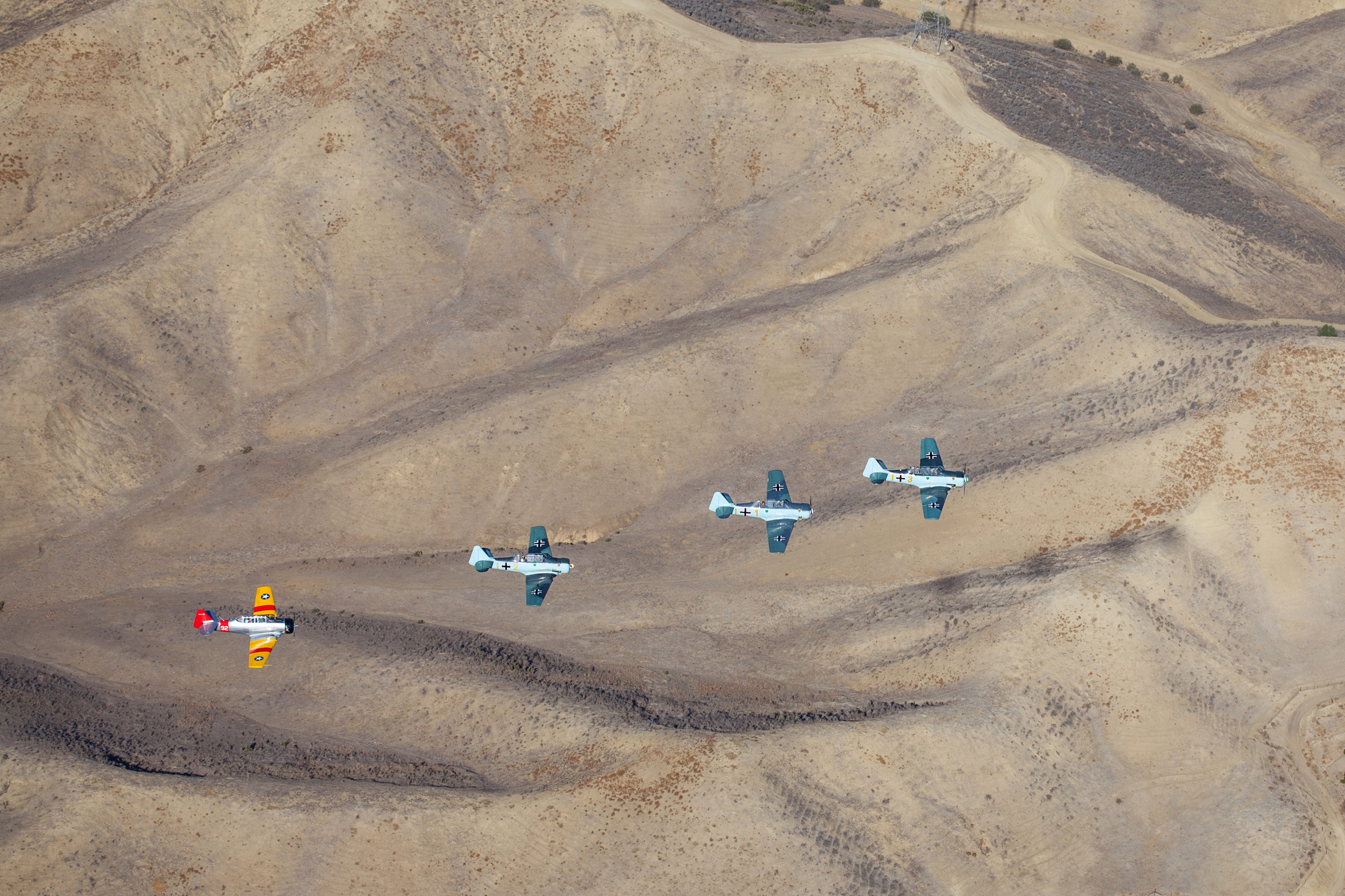 Condor Squadron, air-to-air photography
